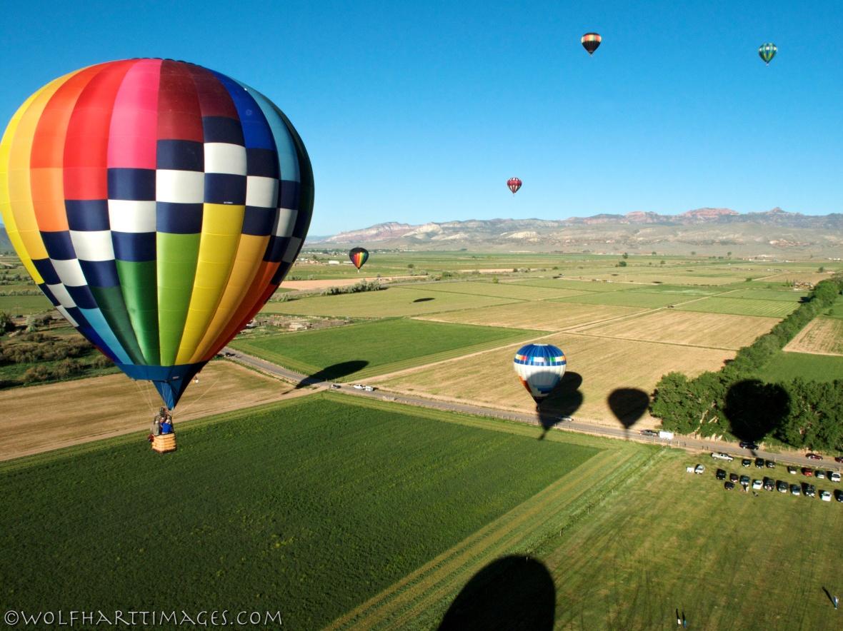 Balloons over Salina