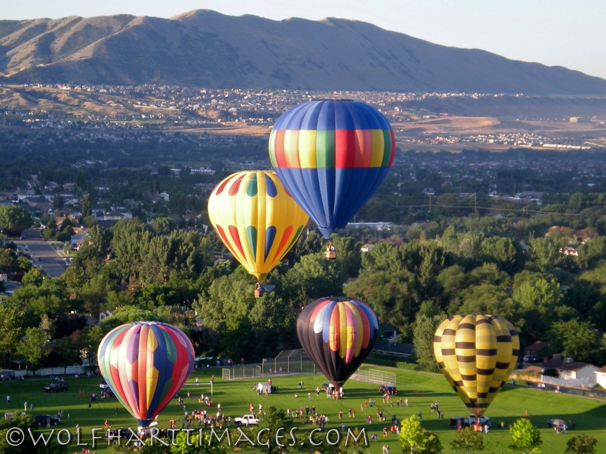 Sandy Utah balloon rally