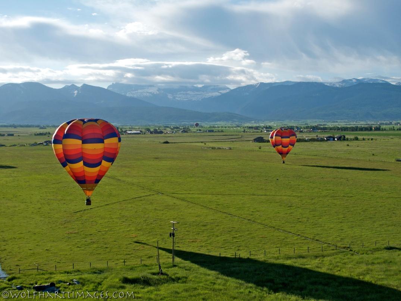 Ballooning in Teton Valley