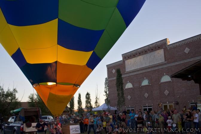 Teton Valley Balloon Glow