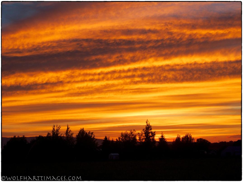Teton Valley sunset