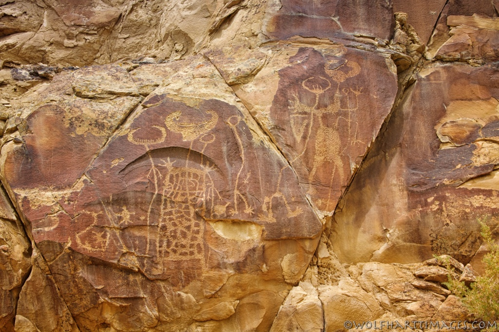 Petroglyphs at Legend Rock