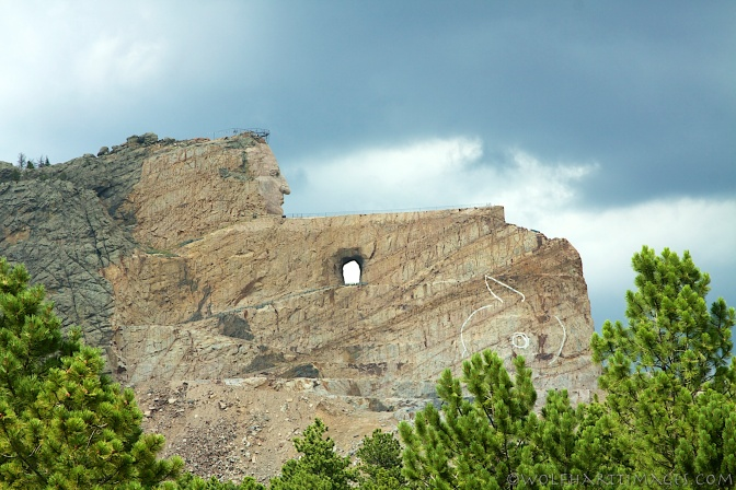 Crazy Horse Monument, South Dakota, Black Hills