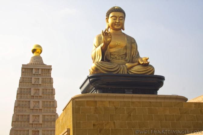 Fo Guang Shan Buddha and stupa