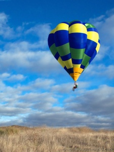 cloud hopper, hopper, ultralight, experimental, hot air balloon, one-man balloon