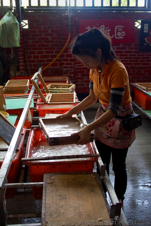 Guang Hong Xing, handmade paper factory, Taiwan
