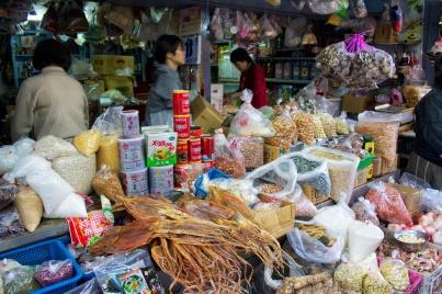 Taiwan, street vendor, squid