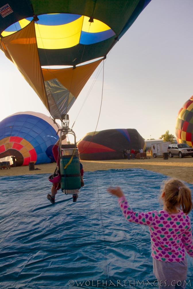 casper balloon roundup, aviation, hot air, hopper