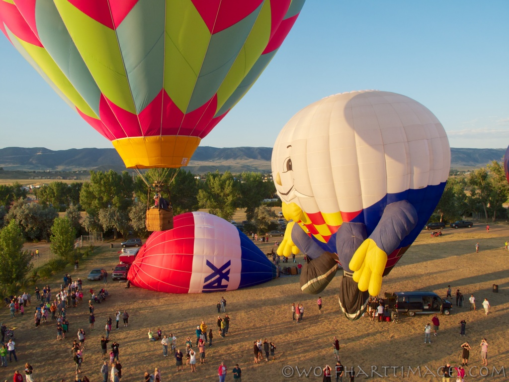 casper balloon roundup, aviation, hot air, humpty dumpty