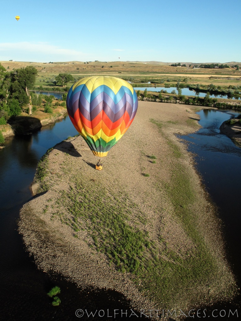 aviation, hot air, balloon, ballooning, Craig, CO, landing