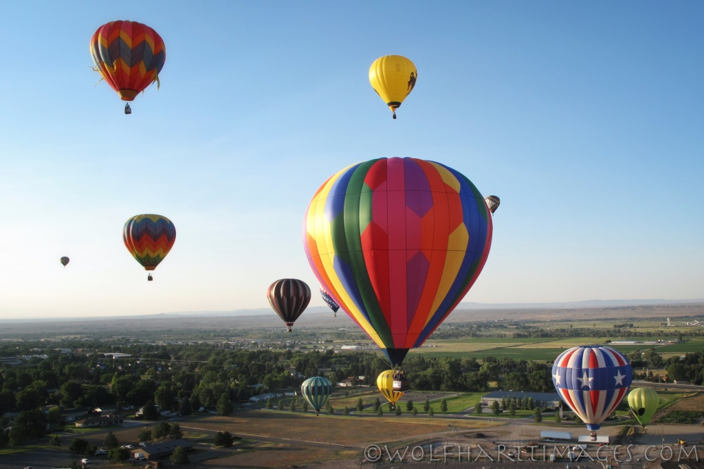 ballooning in Riverton