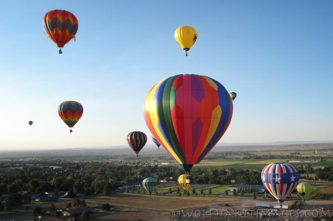 ballooning in Riverton