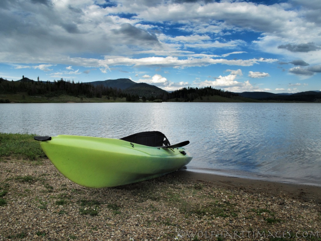 Steamboat Lake, kayaking