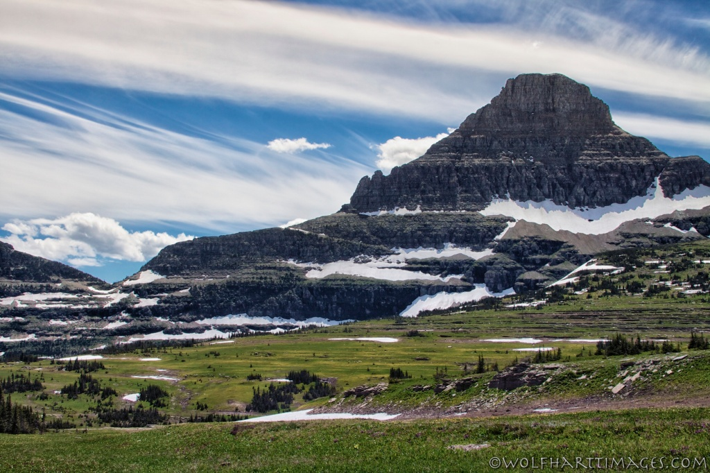 Glacier National Park, Going to the Sun Highway, Logan Pass