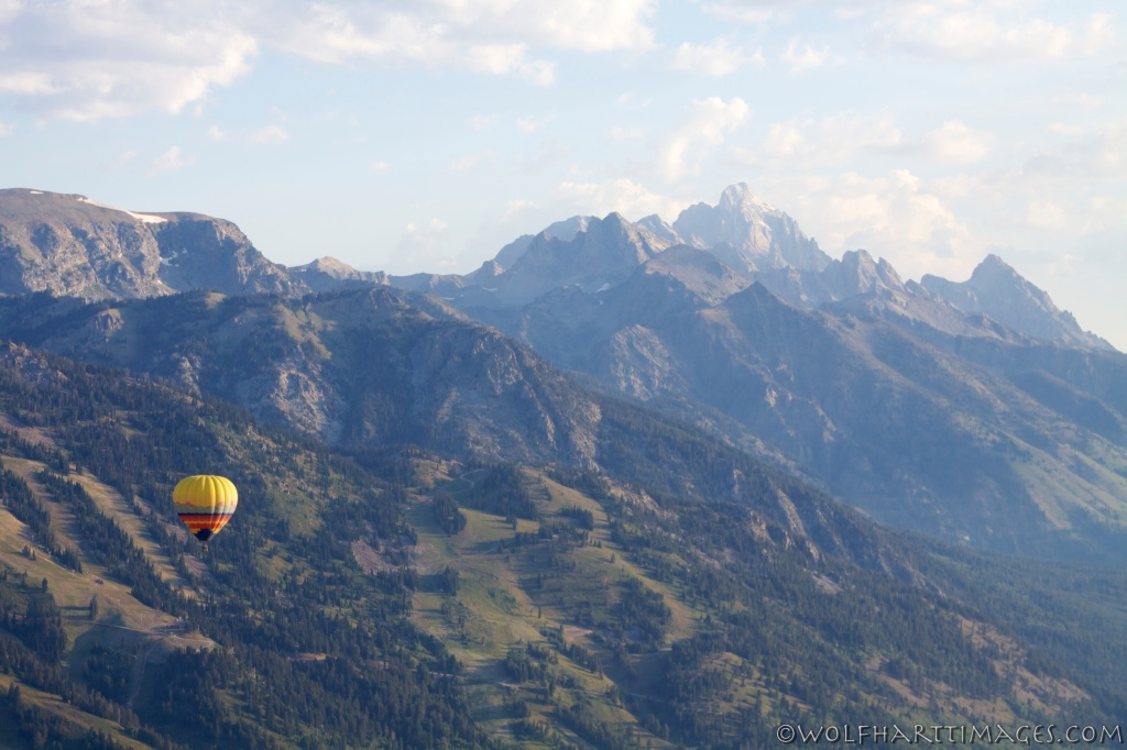 ballooning in Jackson Hole, hot air aviation
