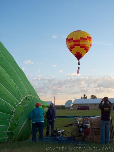 ballooning teton valley