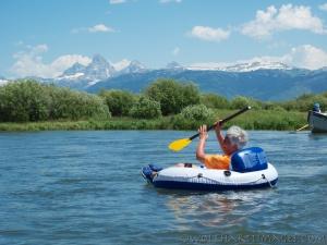 floating the Teton
