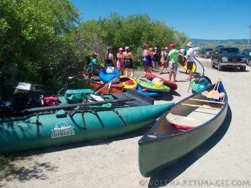Teton River float