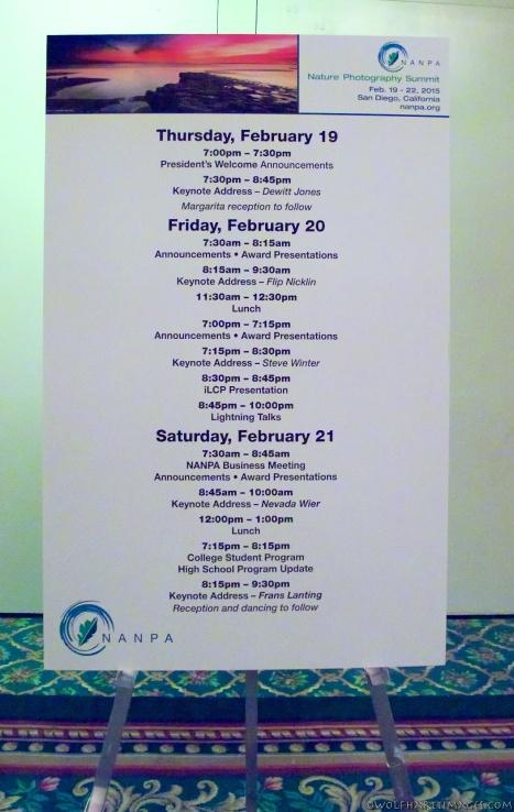 NANPA summit schedule