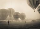 hot air, balloon, balloon rally