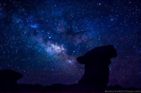 Lone goblin under the stars