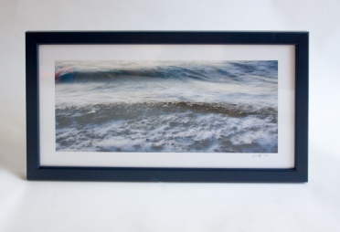 "Photo lustre paper 10""x20"" unmatted, finished size 11.5""x21.5"""