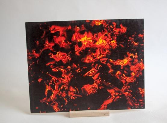 11x14 print on wood, edition 1/10