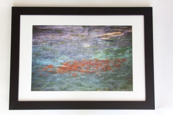 """Photo lustre print 13""""x20"""", finished size is 17""""x24""""."""