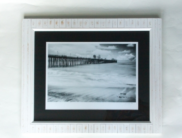 Giclee print on watercolor paper 12x16, black matte 16x20