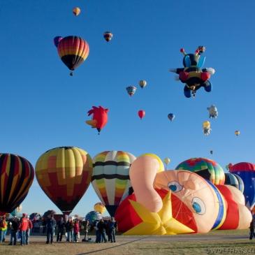 special shape at balloon fiesta