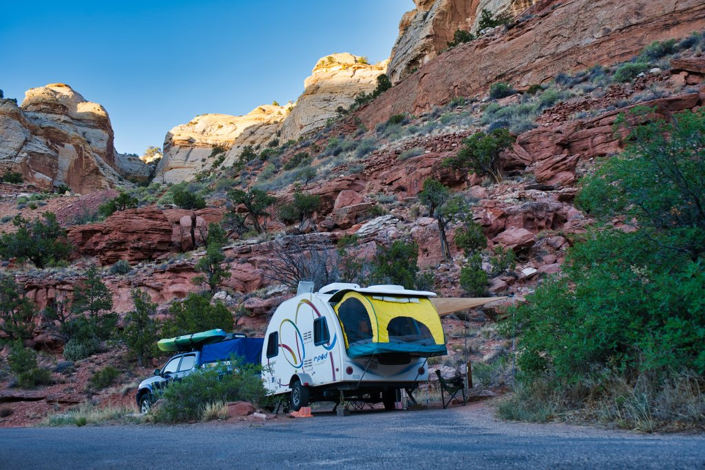 Lower Calf Creek campground, Grand Staircase-Escalante National Monument